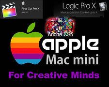 Apple 2011 Mac Mini 2.3Ghz i5  Windows10, Logic Pro X, Final Cut Pro X,AdobeCS6