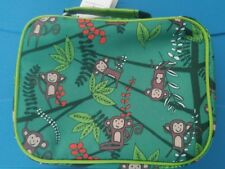"""New with tags/cheeky kids/insulated kids lunch bag /7.25"""" x 9.25"""" x 3.5""""/monkeys"""