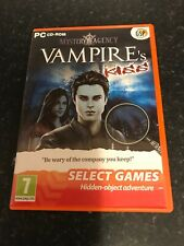SELECT GAMES: Mystery Agency: A Vampire's Kiss (PC DVD), Very Good Windows XP,Wi