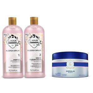 Keratin Collagen system, Plastica Capilar, INOAR G.Hair Keratin Kit 1000ML