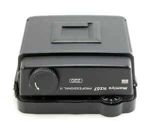 Mamiya RZ67 Professional 220 Film Back - Excellent Condition