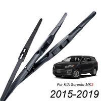 Front Rear Windshield Wiper Blades For Kia Sorento MK3 2015 2016 2017 2018 2019