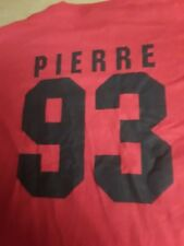 Philadelphia Wings Lacrosse #93 Pierre T-Shirt Shirtzey Men's L