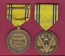 WWII Belgium Victory medal World War 2 WW2 Showing Lion