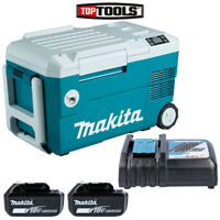 Makita DCW180 18V LXT Cooler & Warmer Box With 2 x 4.0Ah Batteries & Charger