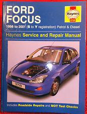 Ford Focus (Petrol & Diesel) Haynes Workshop Manual from 1998 to 2001.