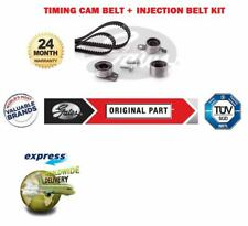 FOR ROVER MG ZR ZS 2.0TD DIESEL 2001-> TIMING CAM BELT KIT + INJECTION BELT KIT