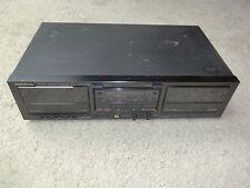 Kenwood KX-W6020 Doppel Kassettendeck, DEFEKT, spielt keine Kassetten