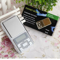 Portable 200g x 0.01g Digital Scale Jewelry Gold Herb Balance Weight Gram LCD