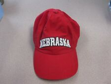 77349e91 Nebraska Corn HUSKERS BaseBall Hat Cap Sports Embroidered Logo RED