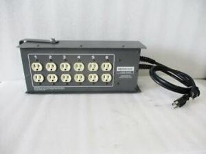 Leprecon LD-360-HP-DMX LD 360 Series 6 Channel DMX Dimmer (H244)