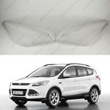 Ford Kuga C520 12-18 OEM Headlight Glass Headlamp Lens Plastic Cover (PAIR)