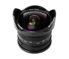 BW 7 Artisans 7.5mm f/2.8 Manual Fisheye Focus Lens For Fujifilm FX Mount A303B