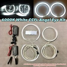 Xenon White 6000K CCFL Angel Eye Halo Ring Kit For 01-06 BMW E46 M3 s54