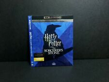 Harry Potter Sorcerers Stone 4K UHD Blu-ray Slipcover ONLY. Rare. No Discs, Case
