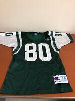 Champion Youth New York Jets Jersey #80 Chrebet Size S 8
