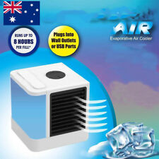 Small Fan Cooling USB Rechargeable Mini Air Conditioner Portable Cooler Desktops