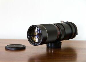 Vivitar Tele-Zoom 90-230mm f4.5 Telephoto Lens for Nikon F-Mount - Clean Glass