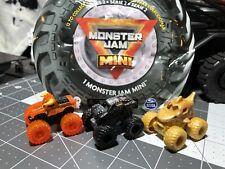 Monster Jam MINIS (SERIES 2 )EI Toro Loco/Max-D/Megalodon All 3 (chase Rare)