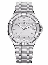 AUTHORIZED DEALER Maurice Lacroix AI1008-SS002-131-1 Mens Silver Aikon Watch
