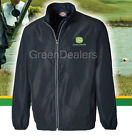 John Deere Dickies Adults Black Lightweight Jacket Coat - all sizes S M L XL XXL