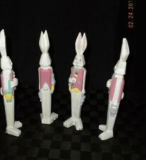 Midwest of Cannon Falls Wooden Easter Bunny With Pink Vest