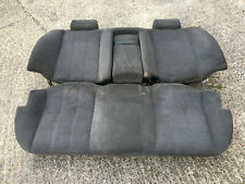 BMW 5 Series E34 Rear Seats Light Gray