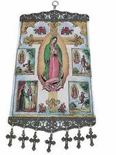 Religious Tapestry Wall Hanging Orthodox Catholic Icons Large Size 45x20 cm