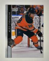 2020-21 UD Series 2 Base Clear Cut #325 Alex Chiasson - Edmonton Oilers