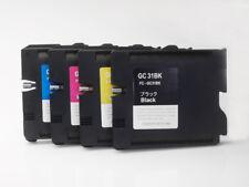Sublimation GC31 4PCS Cartridge for Ricoh GXe2600 e3300 e3350N e5050N e7700