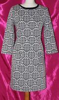 S100 PRINCIPLES by BEN de LISI cotton mix elasticated ladies dress size 16
