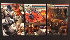 GI JOE VS TRANSFORMERS: ART OF WAR #1 - 3 Comic Books Variants 2006 Devil's Due