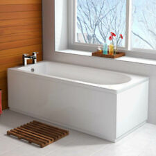 Trojan White Baths 1700 mm Length