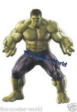 Conjunto de 2 de la pared Cartel de imagen Hulk Vengadores Vintage Art Print Nuevo