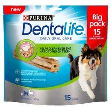 Purina Dentalife Medium Dog Chews, 3 x 15 Sticks. Premium Service, Fast Dispatch