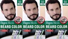 THREE PACKS of Bigen Mens Beard Colour B102 Brown Black
