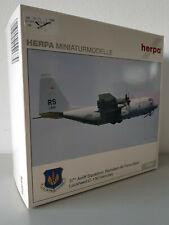 1:200 Herpa Wings 551779 USAFE Lockheed C-130 Hercules 37th Airlift SQD Ramstein