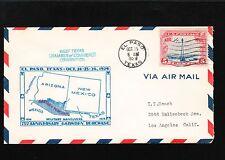 Gadsen Purchase 75 Years El Paso Texas 1929 Scott C11 Air Cover 4o