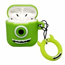 Airpod Silicone Case Protective Cover Cute Funny Apple Earphones Cartoon Green