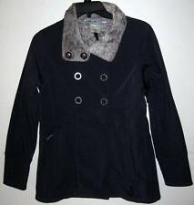 NEW ISIS WOMEN'S PEACOAT Size 4 Pea Coat Windy City Navy Blue Jacket Eclipse