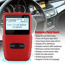 Automotive OBD2 EOBD Scanner Code Reader Car Check Engine Fault Diagnostic Tool