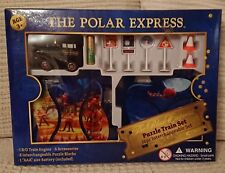 RARE WB THE POLAR EXPRESS PUZZLE TRAIN SET 16PC CHRISTMAS PRESENT NEW AND RARE
