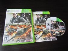 Xbox 360:  Ace Combat: Assault Horizon complete and tested