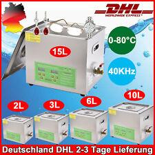 Digital Ultraschallreiniger Ultraschallreinigungsgerät Ultrasonic Cleaner 2L-15L