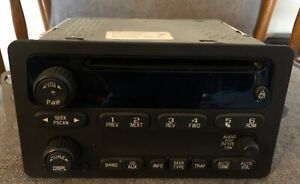 2004 Chevy Venture Single Disc CD Player Radio Stereo OEM