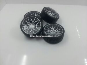 1/18 Scale MAGLIA ECL CONCAVE 19INCH TUNING WHEELSET, Wheelogos are now included