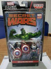 "Marvel Legends comic Secret Wars Capt America/Vance Astro 2-Pack 3.75"" figures"