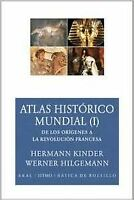 Atlas histórico mundial I. NUEVO. Nacional URGENTE/Internac. económico. GEOGRAFI