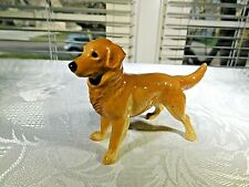 Golden Labrador Retriever Dog Hagen Renaker Art Pottery Figurine