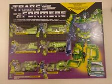 Transformers Reissue Devastator lot Transformers Encore Mini Bots Bumblebee